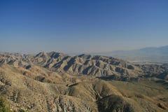 Mountain View d'arbre de Joshua Photo libre de droits