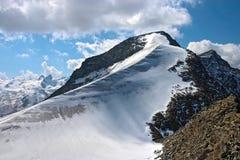 Mountain View da Piz Corvatsch Fotografie Stock Libere da Diritti
