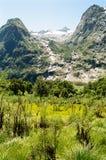 Mountain View da trilha de Milford Fotografia de Stock