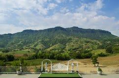 Mountain View dal balcone Immagini Stock