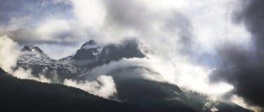 Mountain View dal highpoint Lofer Austria Fotografie Stock Libere da Diritti