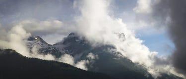 Mountain View dal highpoint Lofer Austria Immagini Stock Libere da Diritti