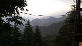 Mountain view of Dalhousie peak stock photos