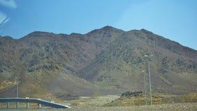 Mountain View dans l'endroit de pays arabe des EAU des vacances Photo stock