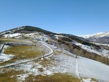 Mountain View dans les Pyrénées photographie stock libre de droits
