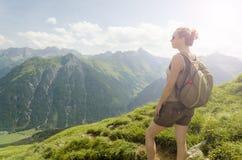 Mountain View de Áustria Imagens de Stock Royalty Free