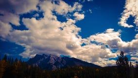 Mountain View de bannf Photo libre de droits