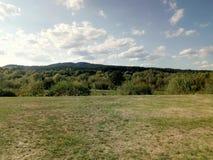 Mountain View de Bratislava foto de stock royalty free