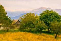 Mountain View de Bucegi Fotos de archivo
