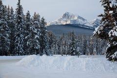 Mountain View de château Photos libres de droits