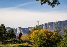 Mountain View de Cheile Gradistei photographie stock