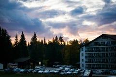 Mountain View de Cheile Gradistei Image libre de droits