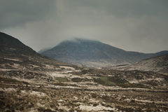 Mountain View de Connemara no verão Imagens de Stock