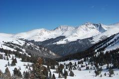 Mountain View de cuivre Image libre de droits