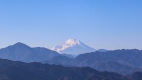 Mountain View de Fuji de Takao Mountain Fotos de archivo
