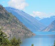 Mountain View de glacier des Etats-Unis images libres de droits