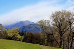 Mountain View de Hayes del lago Imágenes de archivo libres de regalías