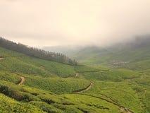 Mountain View de Iduki, Karala foto de stock