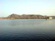 Mountain View de Jal Mahal y Fotos de archivo libres de regalías