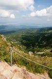 Mountain View de Karkonosze fotos de stock royalty free