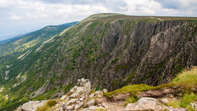 Mountain View de Karkonosze imagens de stock royalty free