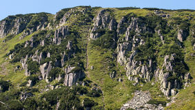 Mountain View de Karkonosze e Trekking Imagens de Stock Royalty Free