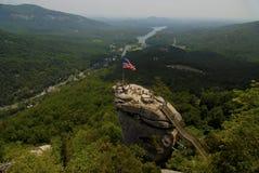 Mountain View de la roca de Chimeny Fotografía de archivo libre de regalías