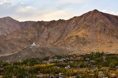Mountain View de Leh Fotografía de archivo