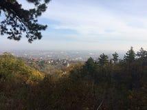 Mountain View de Mecsek Hongrie photos stock