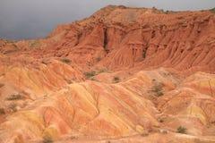 Mountain View 2 de Quirguizistão fotos de stock