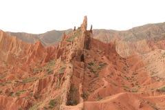 Mountain View de Quirguizistão imagem de stock royalty free