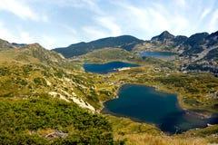 Mountain View de Rila Imagens de Stock