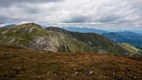 Mountain View de Tatry y Czerwone Wierchy el emigrar Foto de archivo libre de regalías