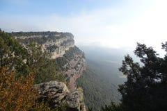 Mountain View de Tavertet, Catalogne Photo stock