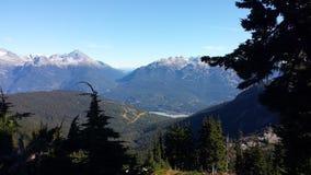 Mountain View de Whistler Photos libres de droits