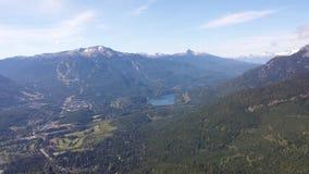 Mountain View de Whistler Image stock