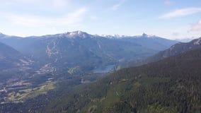 Mountain View de Whistler Photographie stock