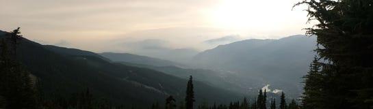 Mountain View de Whistler Photo libre de droits