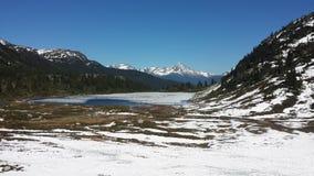 Mountain View de Whistler Photo stock
