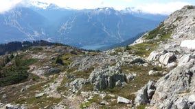 Mountain View de Whistler Images libres de droits