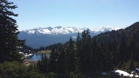 Mountain View de Whistler Image libre de droits