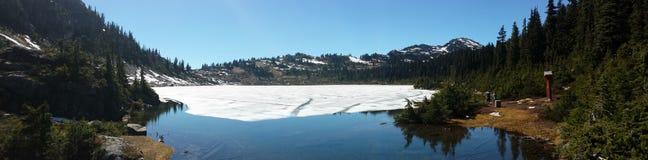 Mountain View de Whistler Photographie stock libre de droits