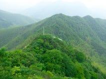 Mountain View del balanceo Imagen de archivo libre de regalías