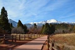 Mountain View del invierno Foto de archivo