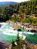 Mountain View del Montana immagine stock