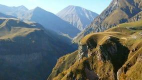 Mountain View del otoño almacen de metraje de vídeo