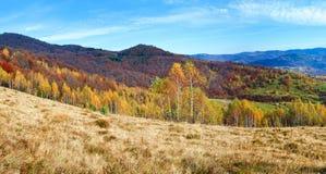 Mountain View del otoño Imagenes de archivo