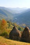 Mountain View del otoño Foto de archivo libre de regalías