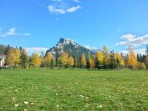 Mountain View del parque Imagen de archivo libre de regalías
