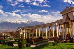 Mountain View del parque de la ciudad de la columnata Fotografía de archivo